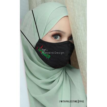 [Ready Stock] Palestine Face Mask (Headloop)