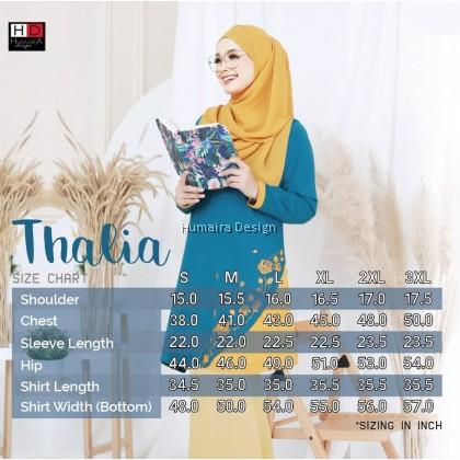 Tshirt Muslimah Humaira Thalia
